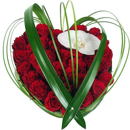 bouquet coeur deluxe