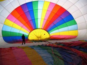 voyage montgolfiere